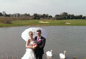 Weybrook Park Golf Club Basingstoke Hampshire Wedding
